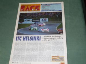 ITC (DTM) HELSINKI magazine 22 June 1995 (German)